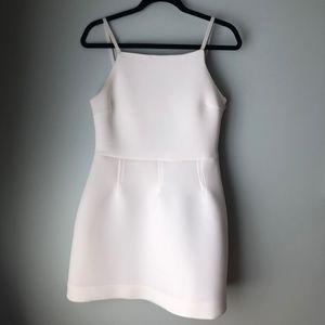 ASOS WHITE SCUBA DRESS